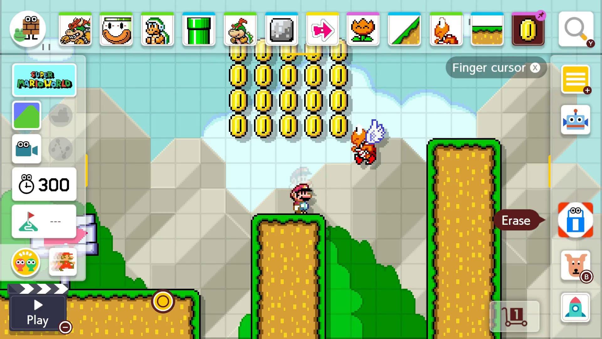Super Mario Maker 2 Course Maker - Set Clear Conditions button
