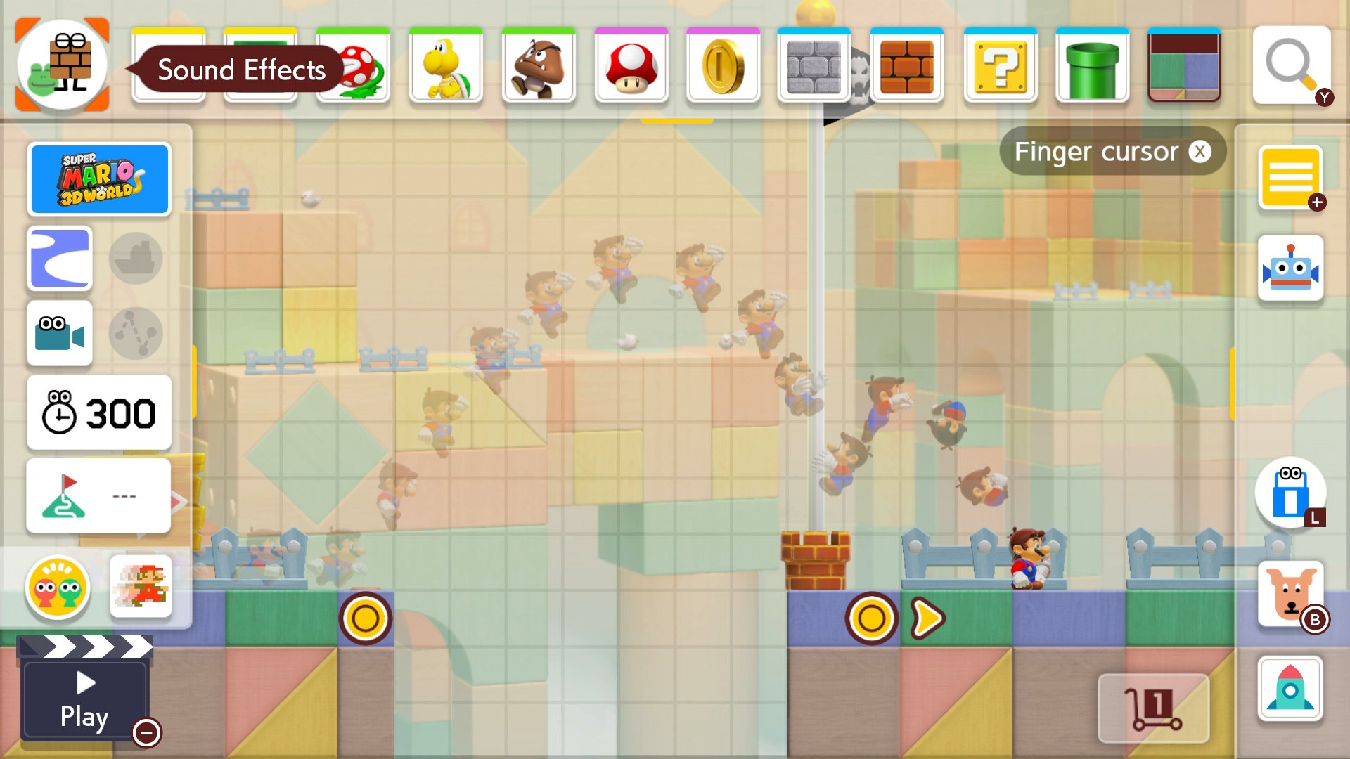 Super Mario Maker 2 sound effects and music