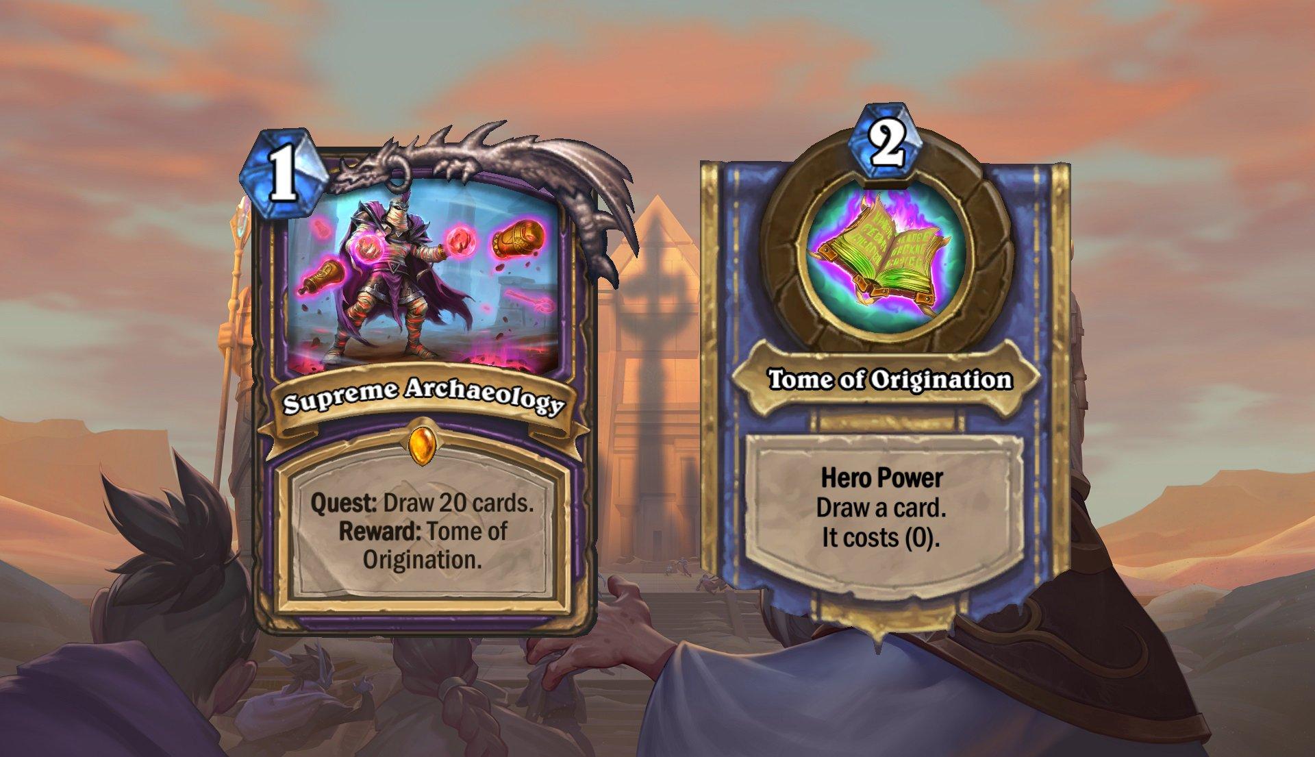Hearthstone - Warlock Quest