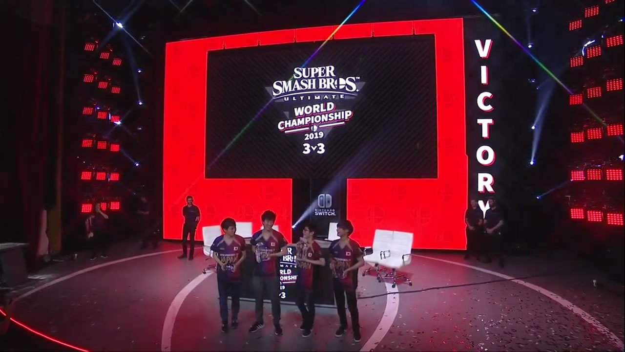 Team Japan wins Super Smash Bros. Ultimate World Championship 2019