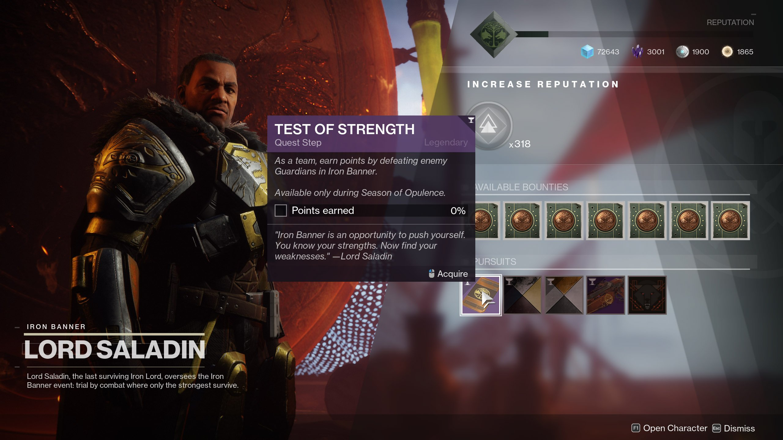 Test of Strength Quest Step Destiny 2