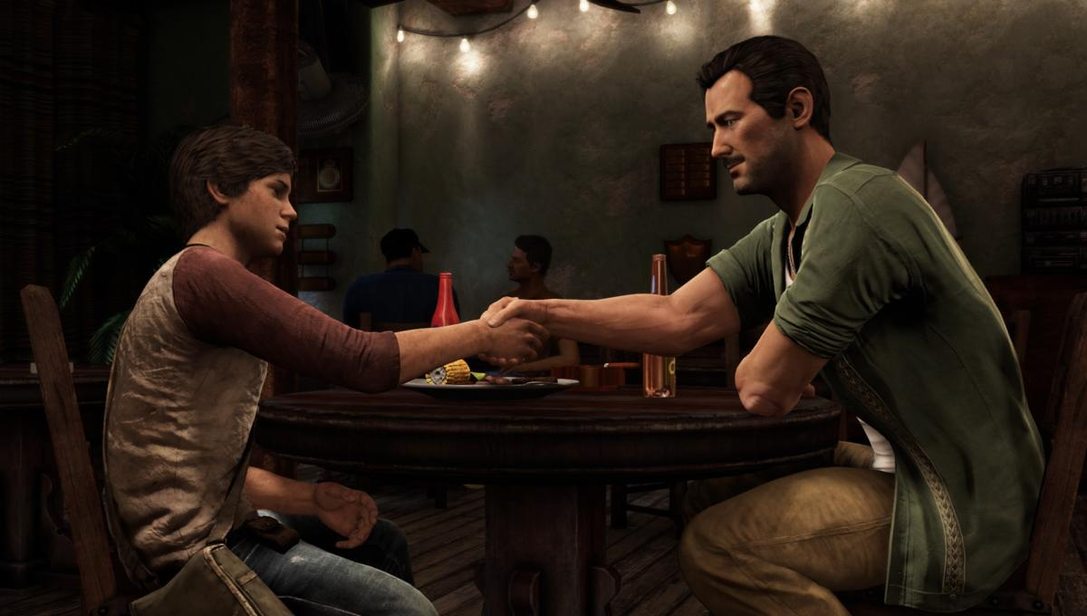 The Uncharted movie tells how Nathan Drake and Victor Sullivan met.