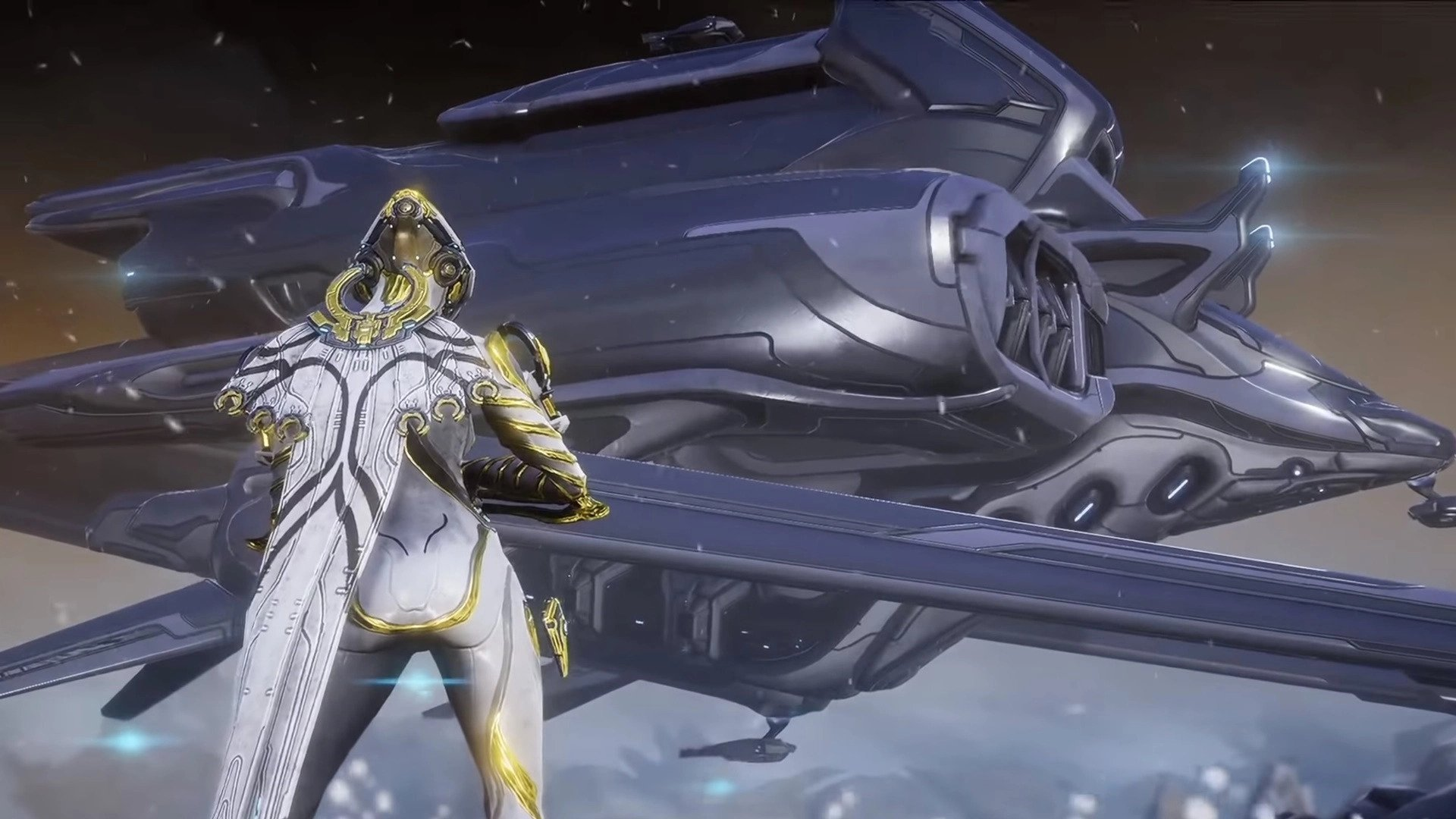 Warframe ship-to-ship combat teased with Railjack at TennoCon 2018