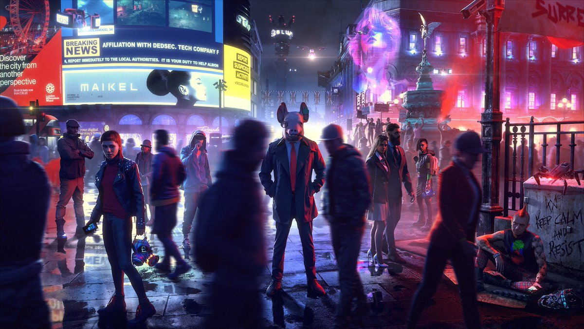 Watch Dogs Legion won't be always online