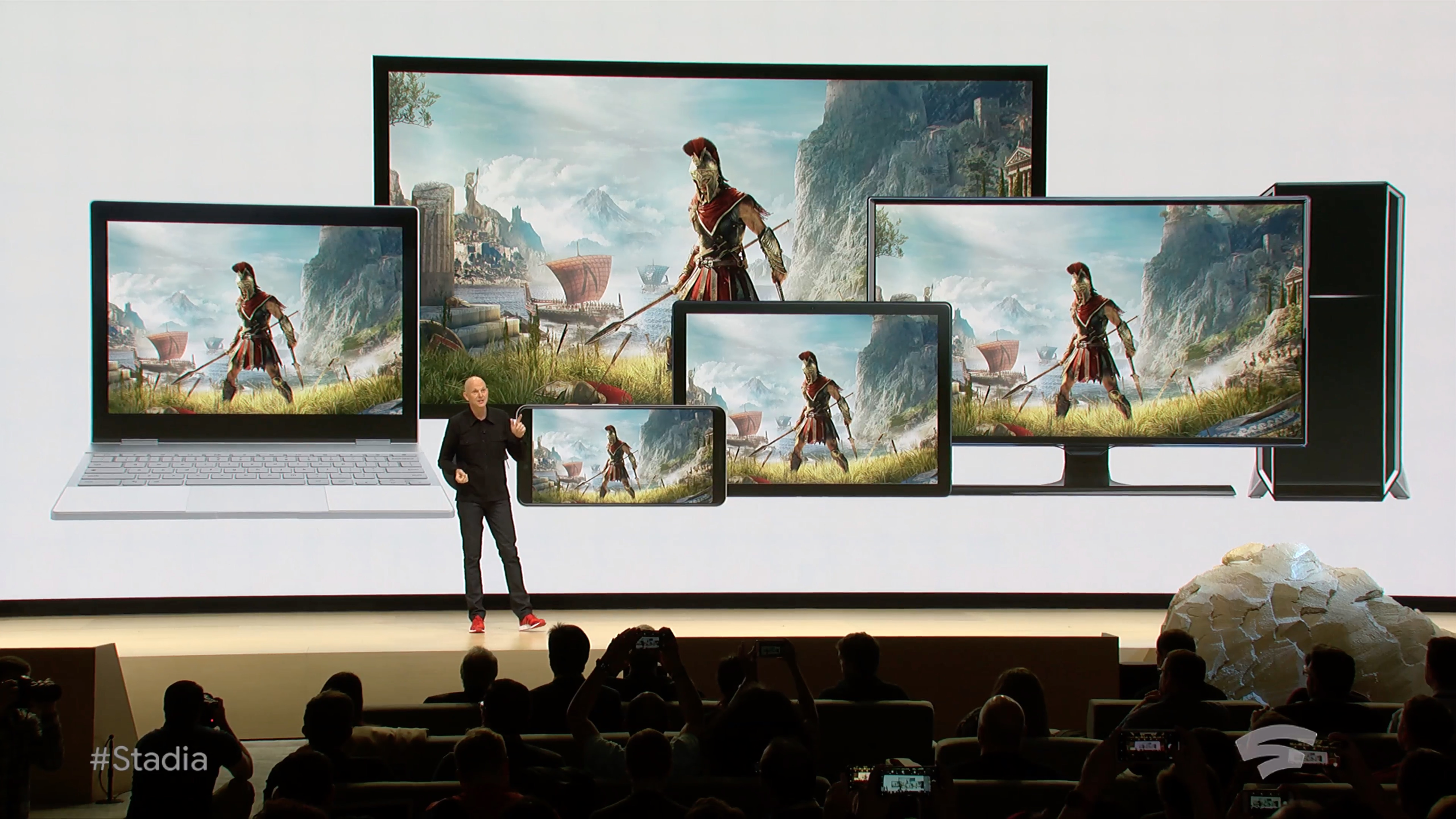 Where was Google Stadia at E3 2019?