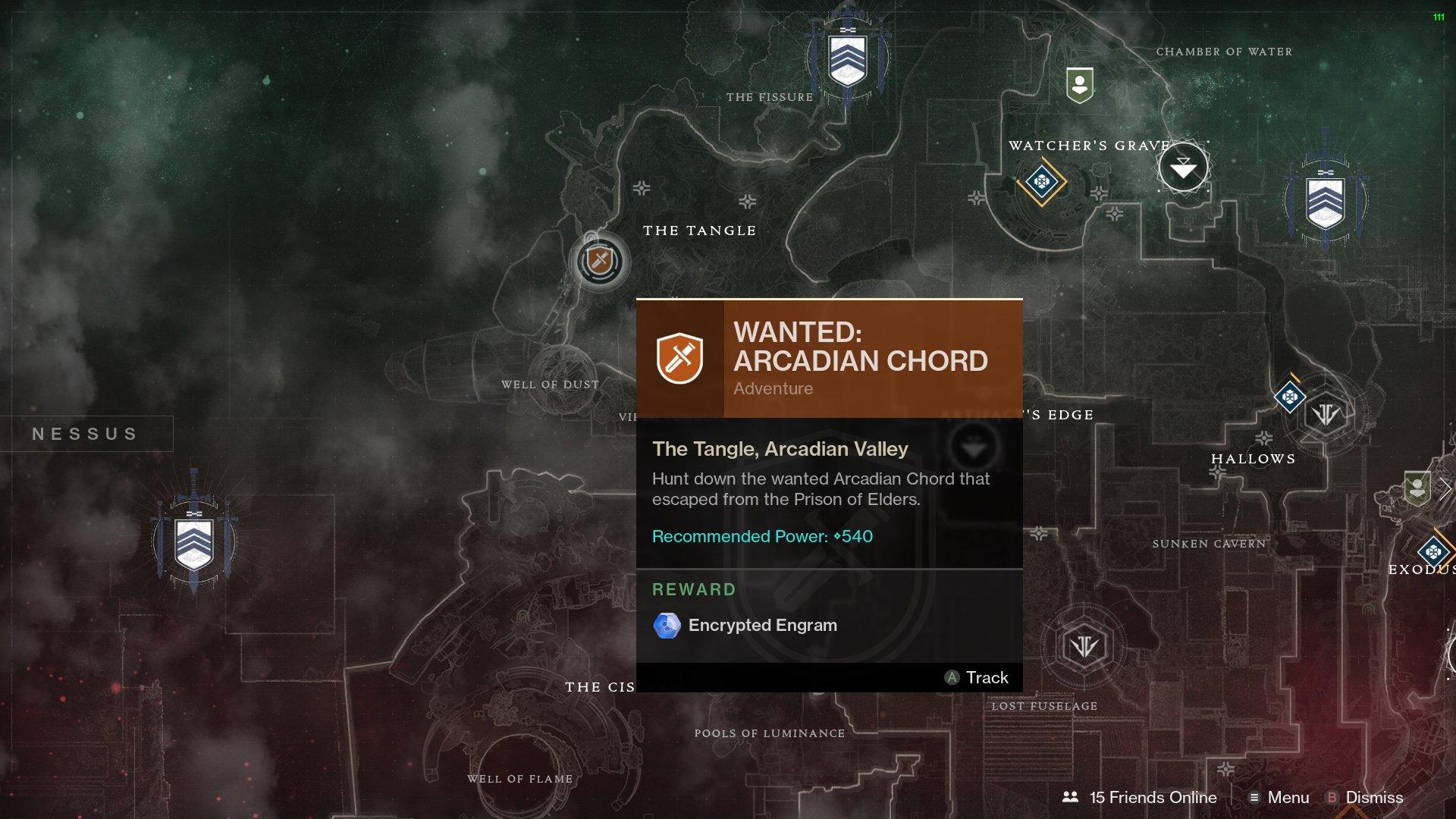 Arcadian Chord Destiny 2