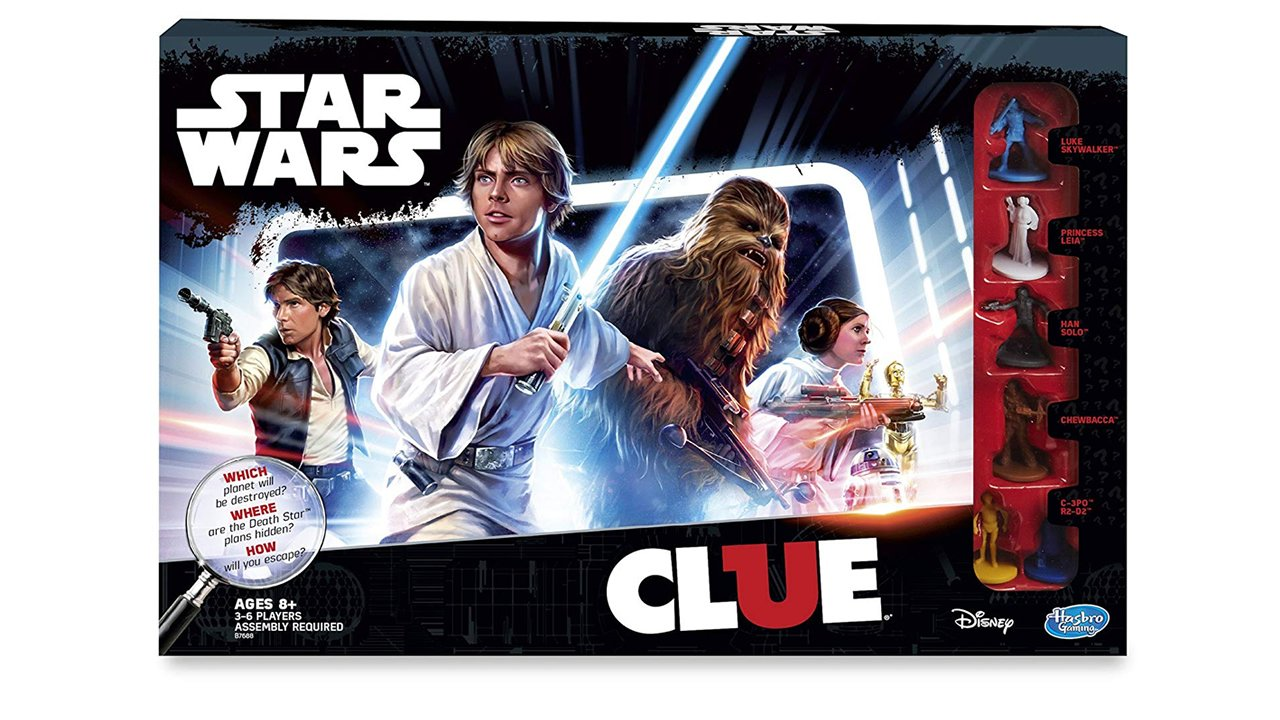 Best Prime Day 2019 board game deals Clue Star Wars