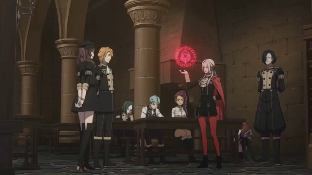 All Black Eagles characters and students - Fire Emblem: Three Houses