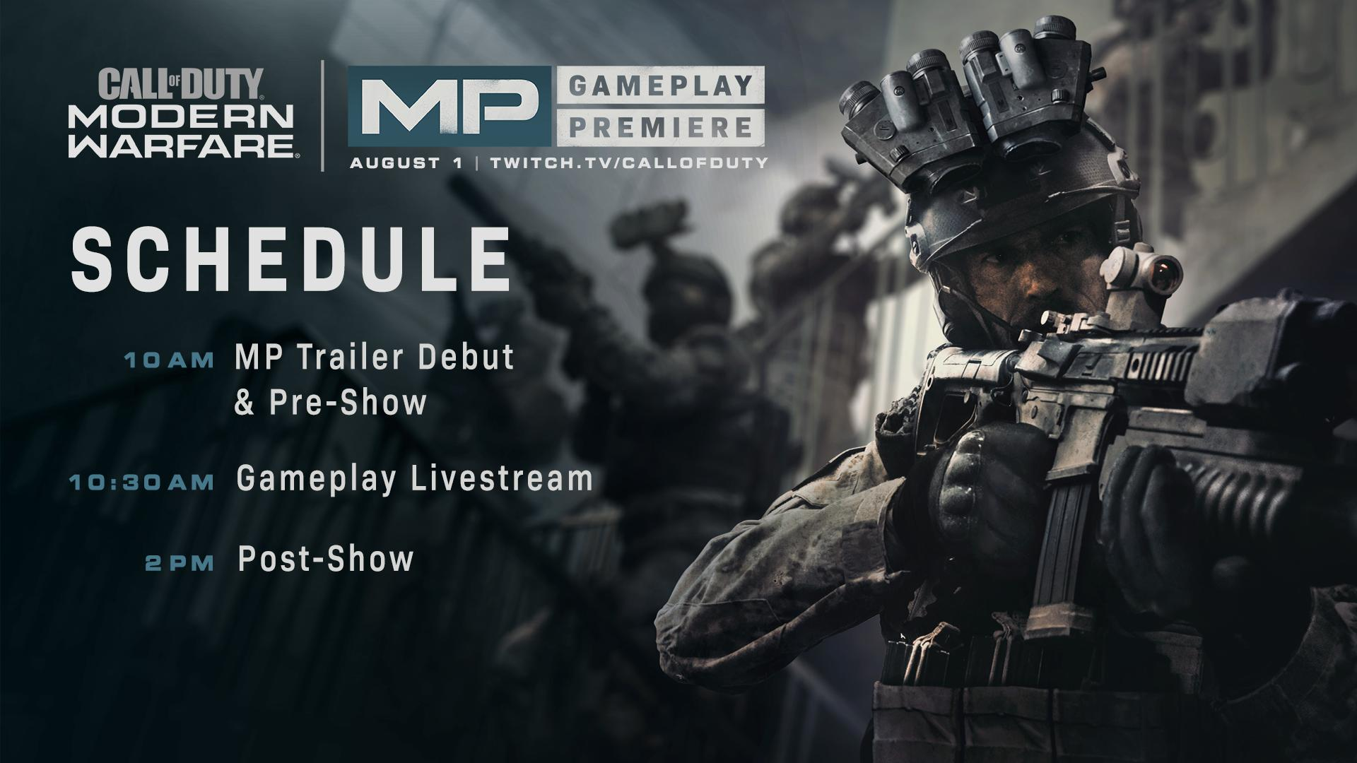 Call of Duty Modern Warfare Multiplayer Premiere