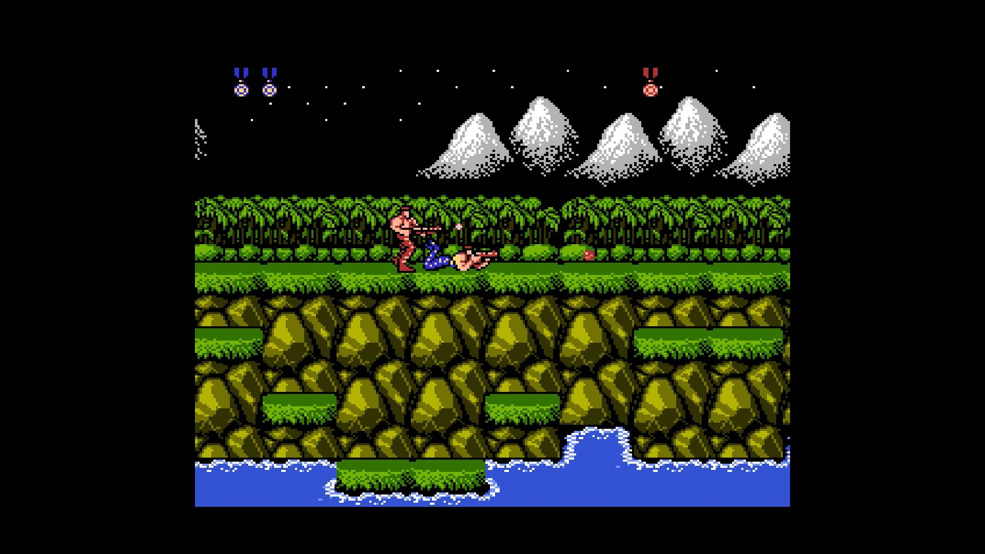 The NES Contra port is one of the most popular couch co-op games of all time.