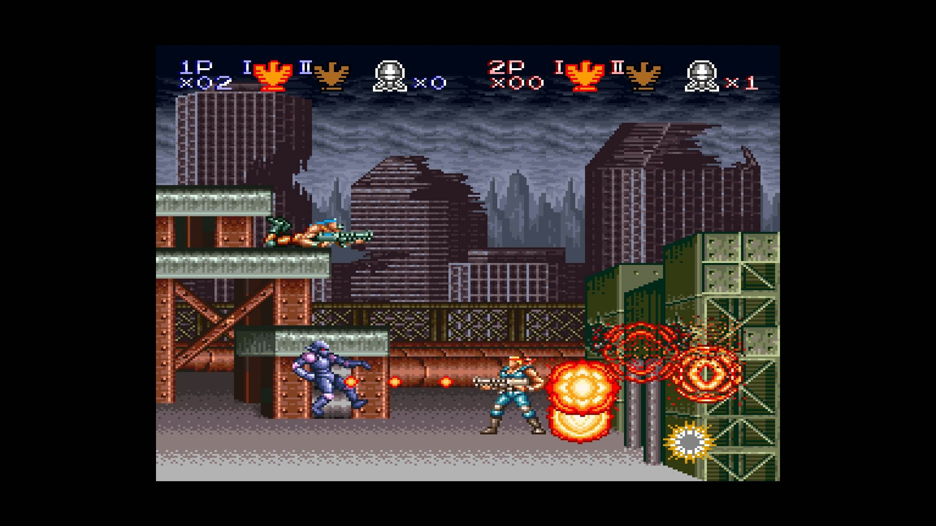 Contra III: The Alien Wars was the franchise debut on the SNES.