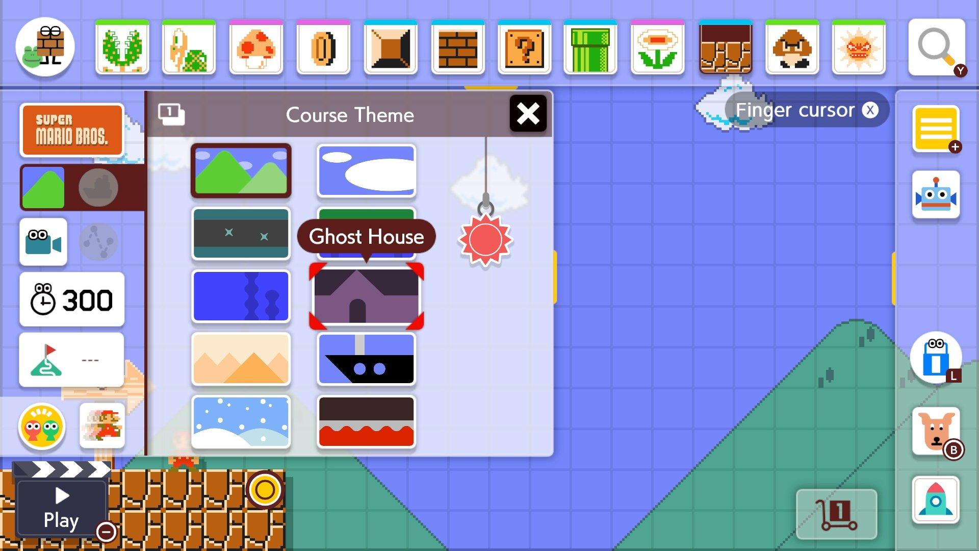 Course Themes Super Mario Maker 2
