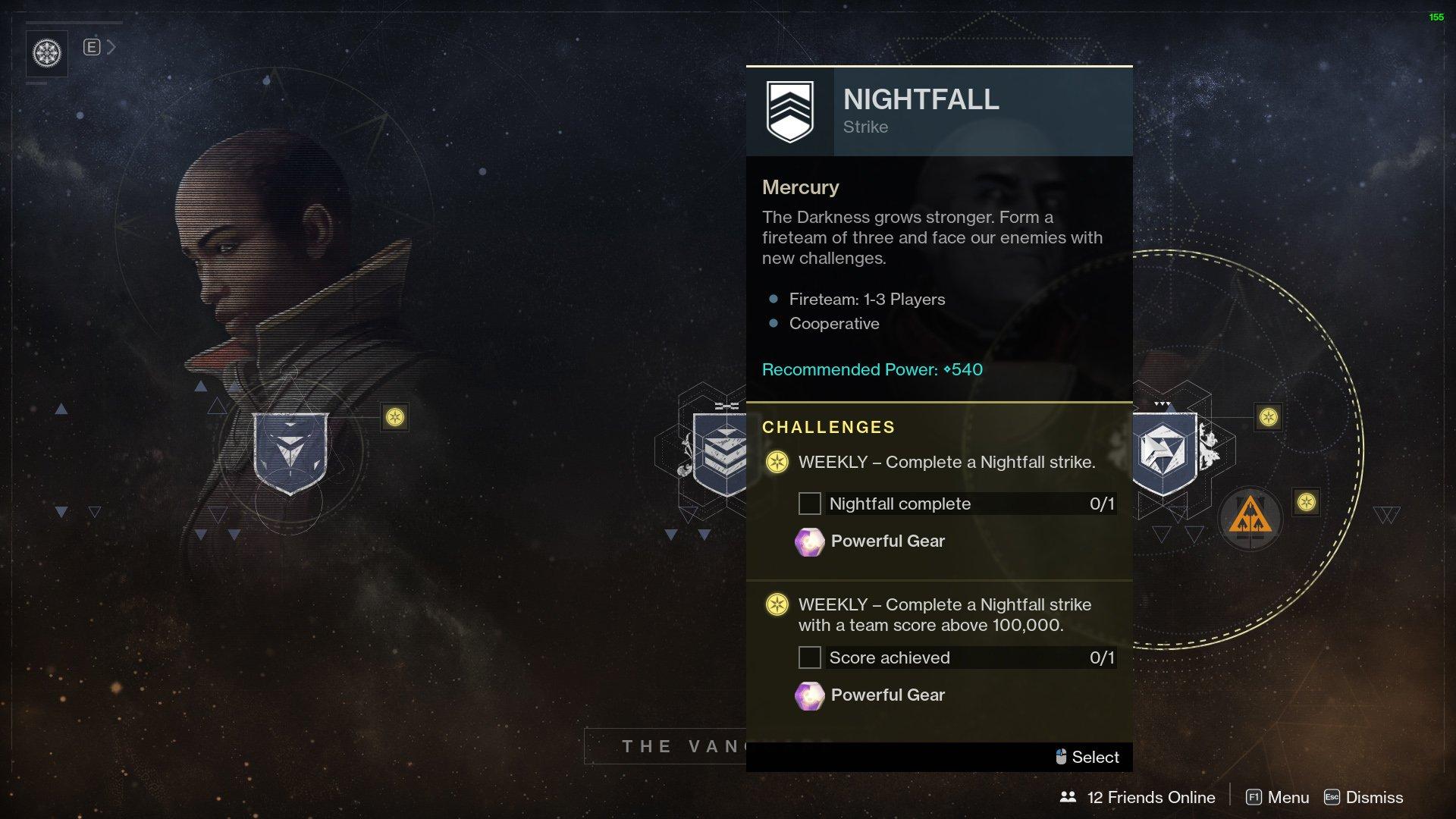 Challenges Destiny 2