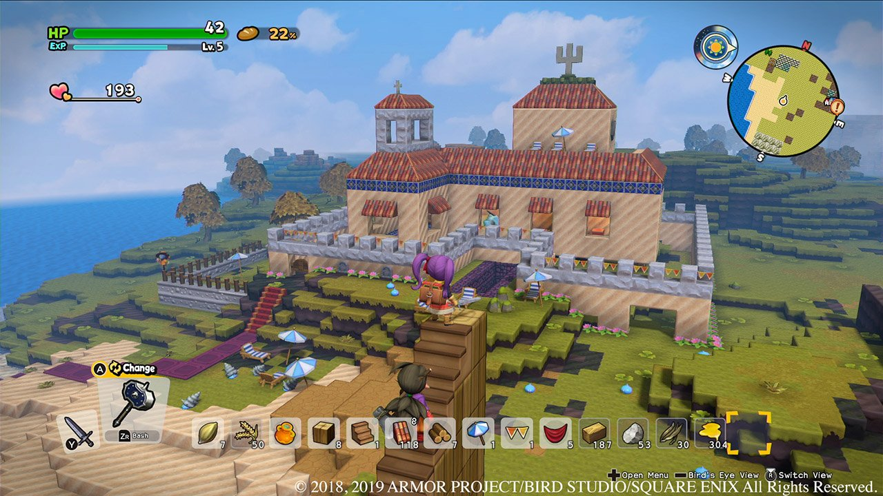 Does Dragon Quest Builders 2 have multiplayer?