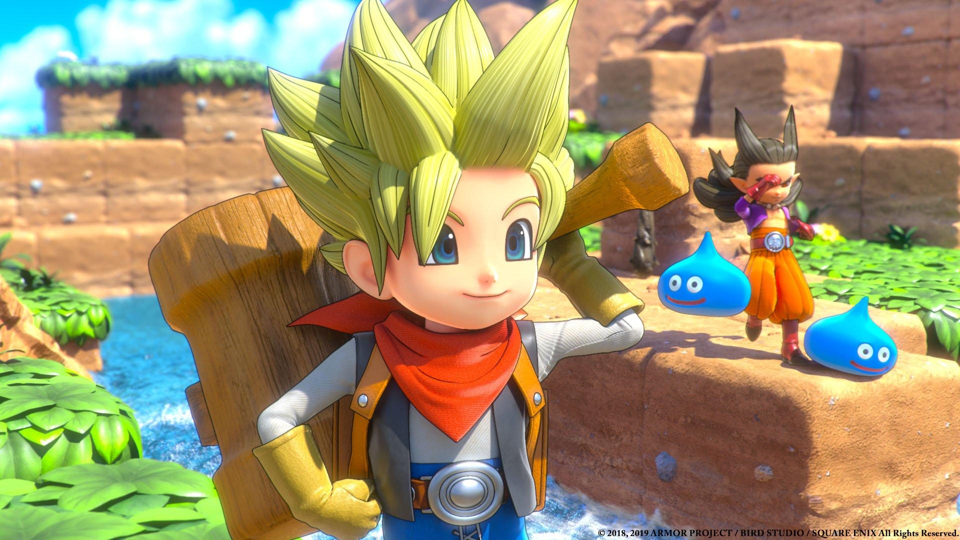 Dragon Quest Builders 2 review - boy builder