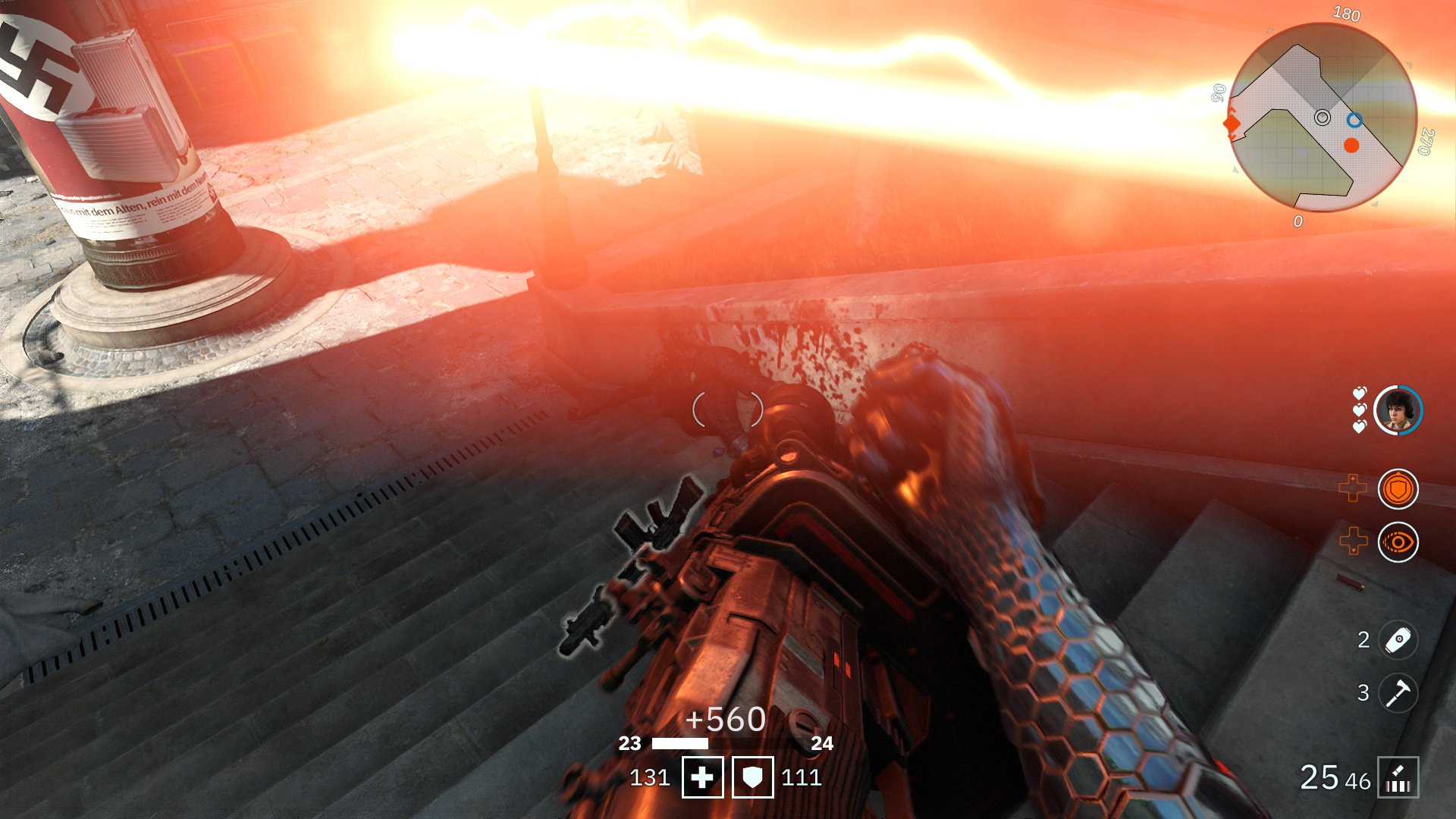level fast wolfenstein youngblood