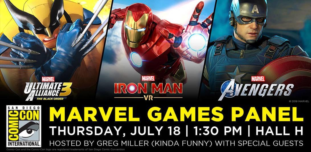 Marvel Games - San Diego Comic-Con