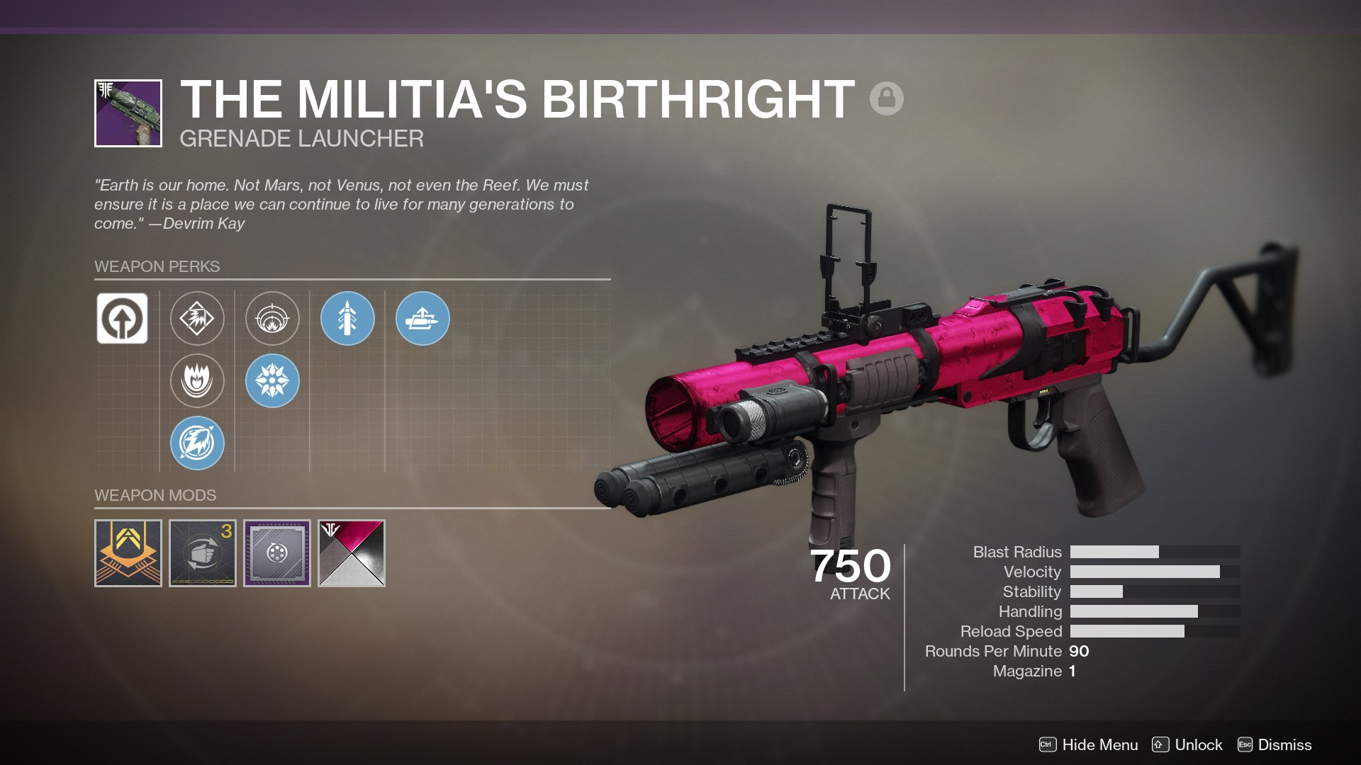 Militias Birthright Destiny 2