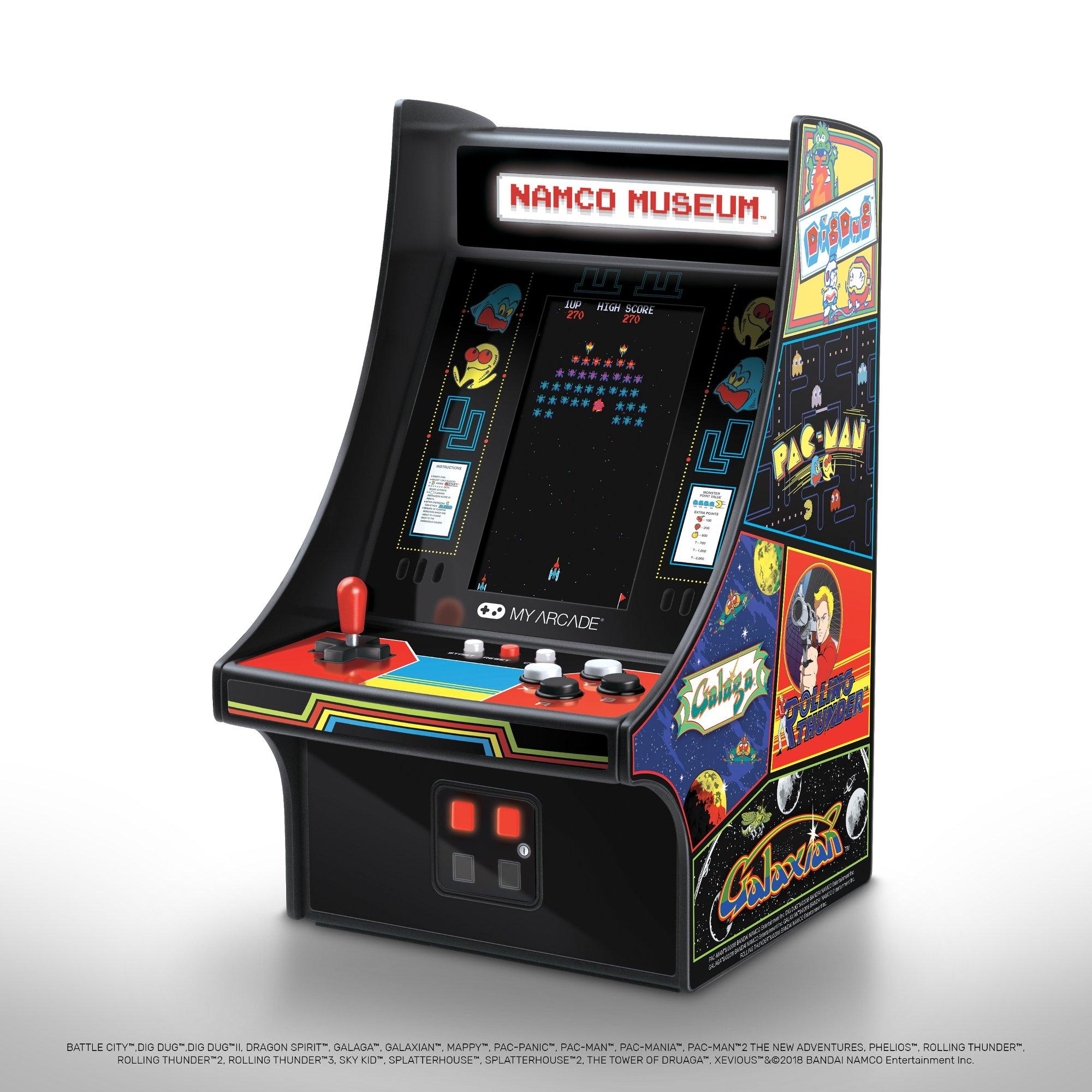 My Arcade Namco Museum Micro Player Photo