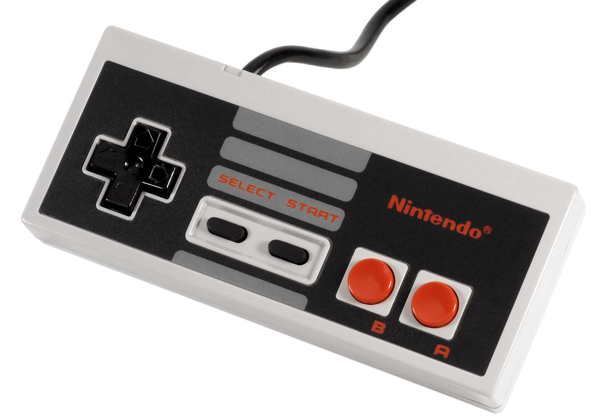 The original NES D-Pad changed gaming input devices forever.