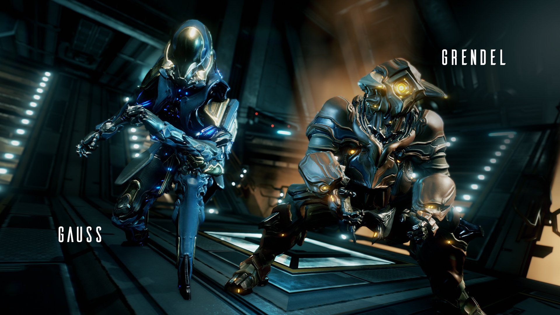 Digital Extremes showed off the designs for their two new Warframes, Grendel and Gauss at TennoCon 2019.