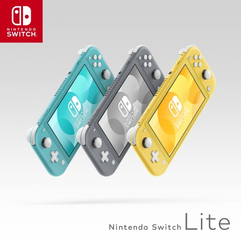 Nintendo Switch Lite will come in multiple colors.