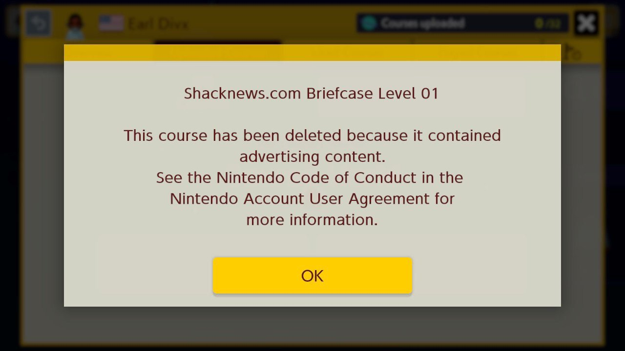 Nintendo is taking level titles way more seriously on the Nintendo Switch version of Super Mario Maker.