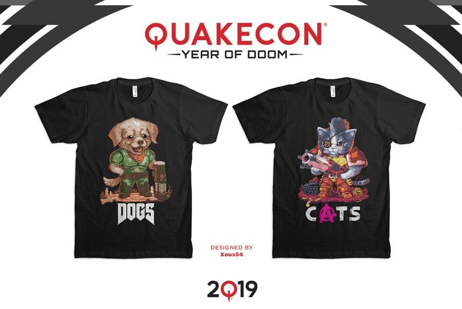 I must have this Doggo DooM shirt.