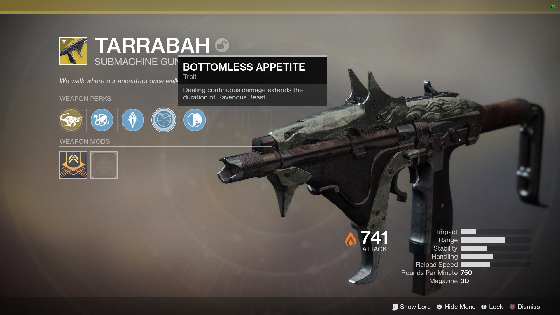how to get Tarrabah Destiny 2