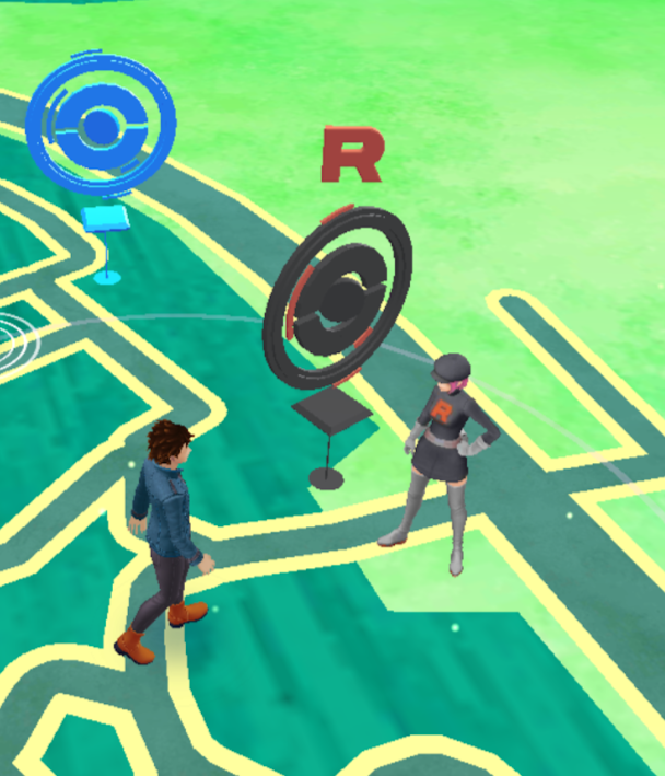 Pokemon GO - Team Rocket