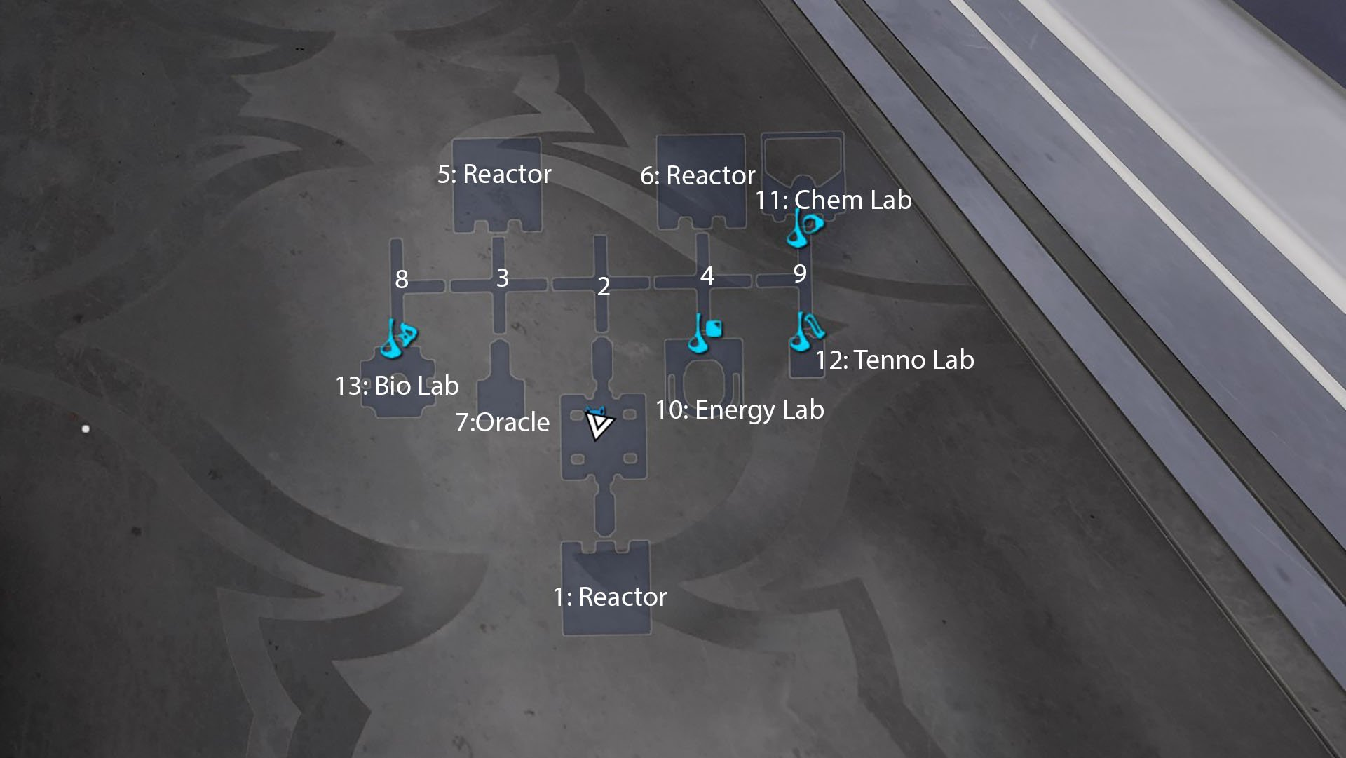 Warframe build a clan dojo - Dojo Layout