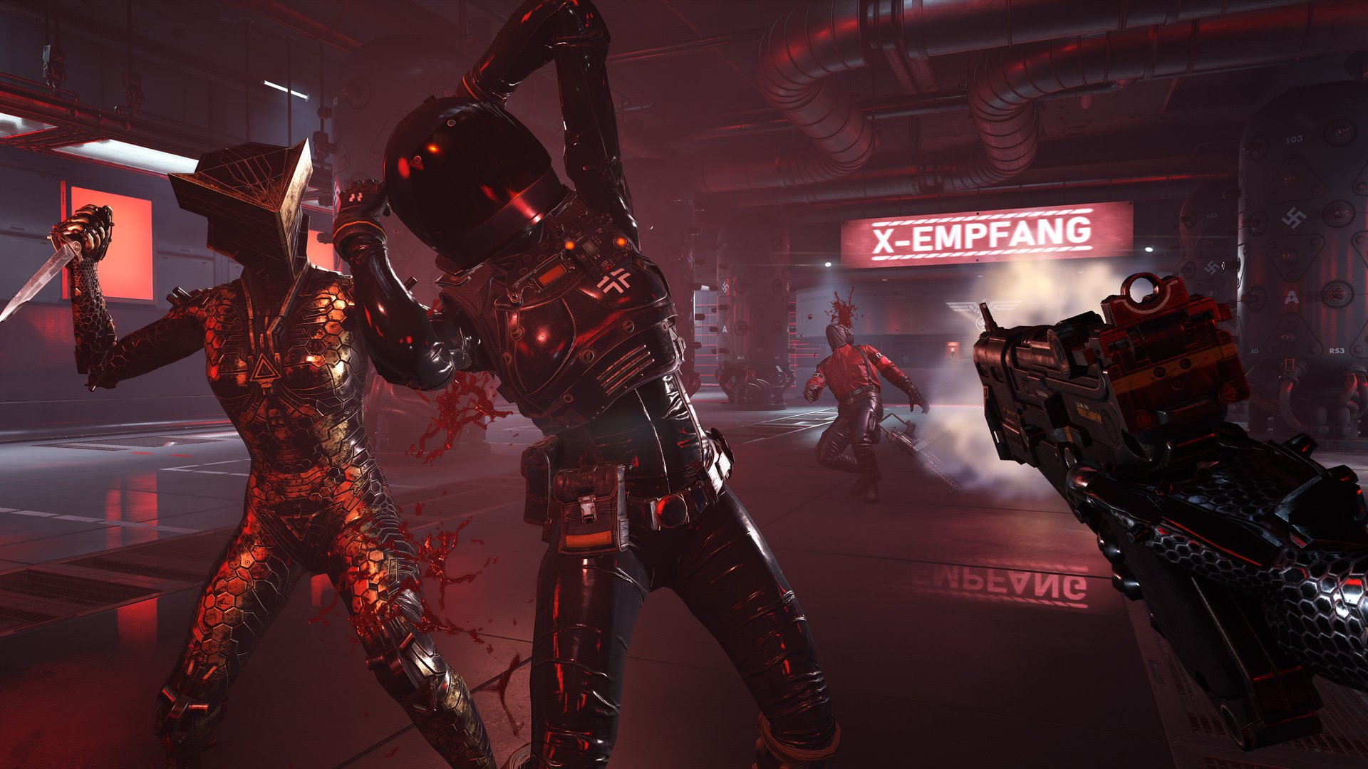 Wolfenstein Youngblood enemies