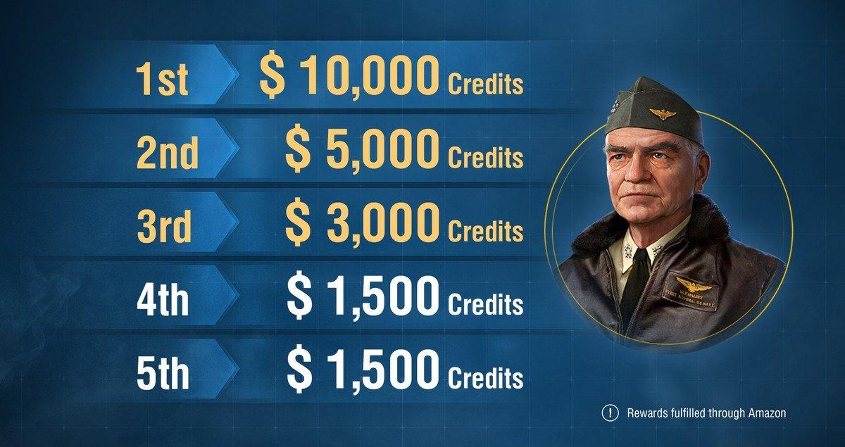 World of Warships Awarding $10,000 to Top Recruiter