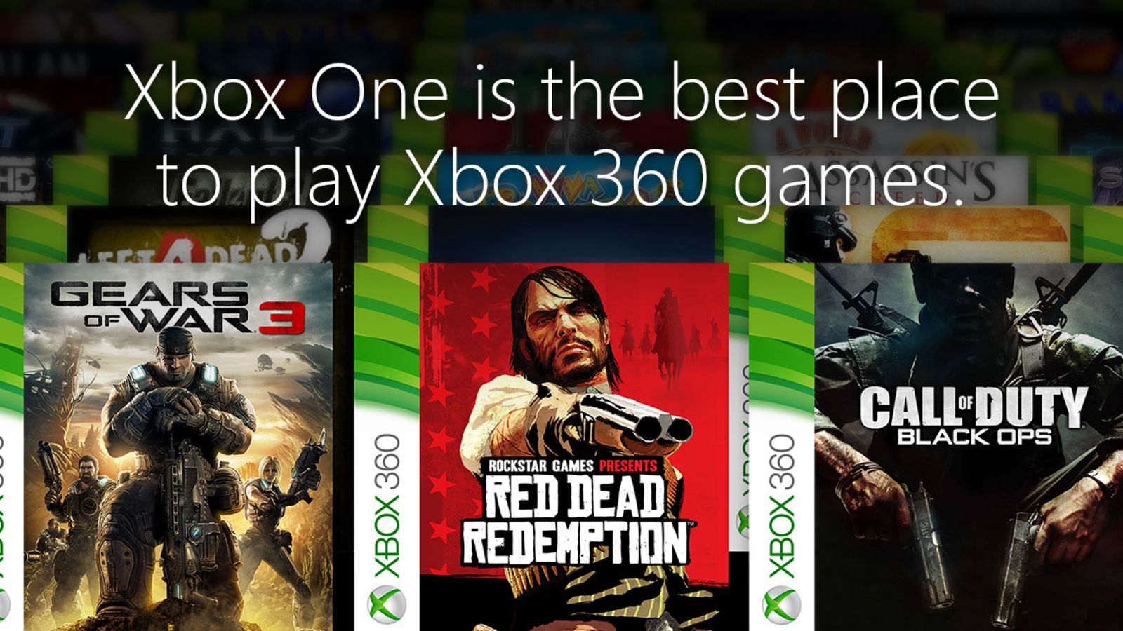 All Xbox 360 backward compatible games on Xbox One