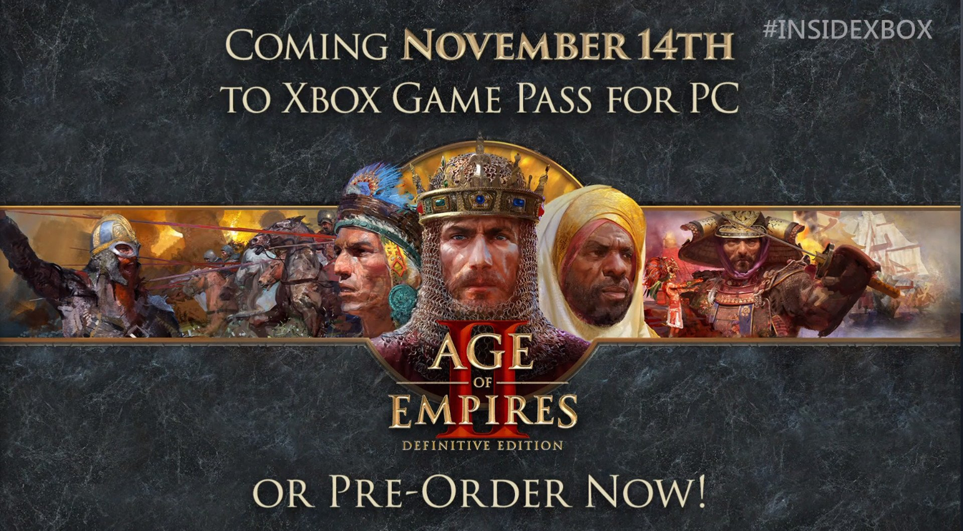 Age of Empires 2: Definitive Edition is launching on November 14 for Xbox One and PC