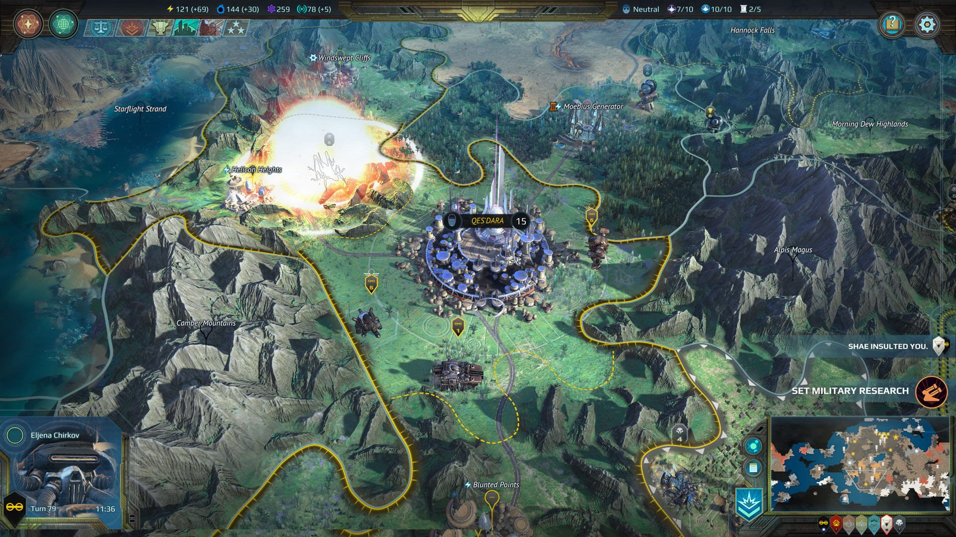 Age of Wonders Planetfall review Shacknews screenshot 01