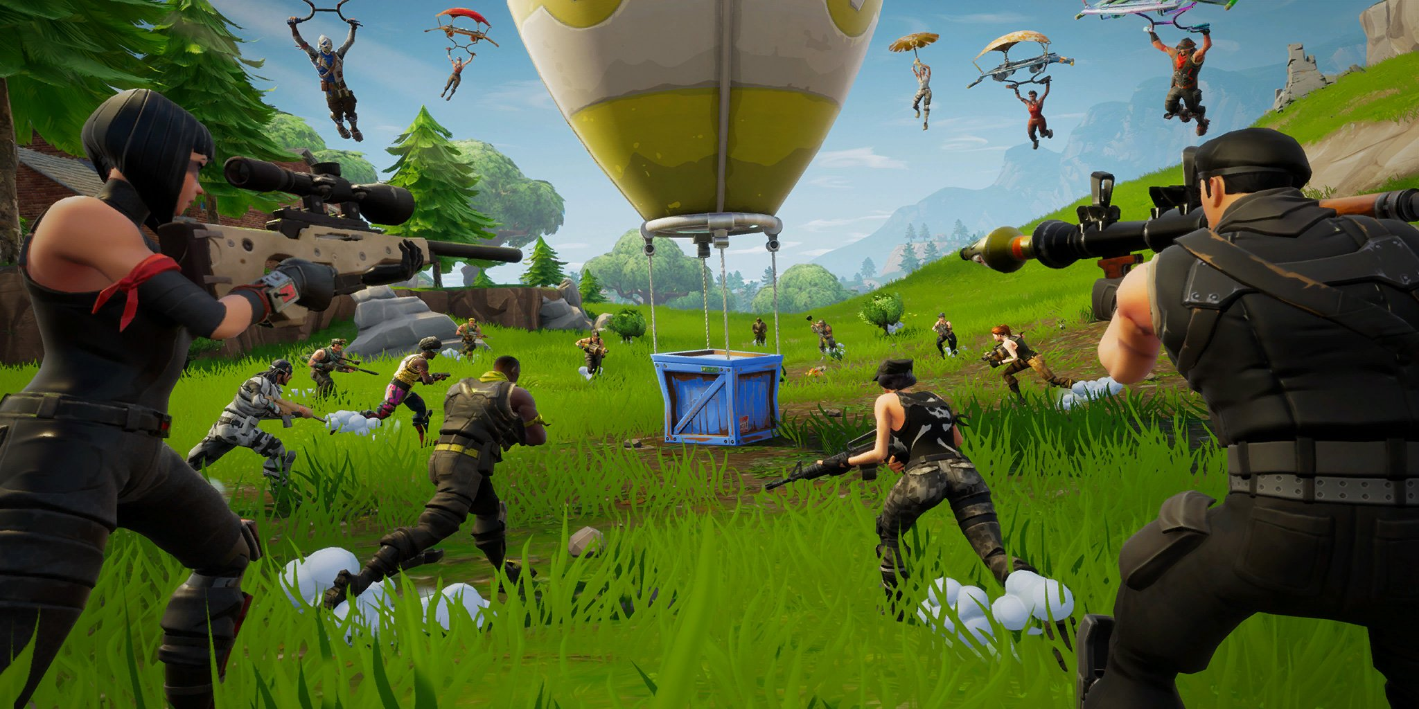 Fortnite - Supply Drops