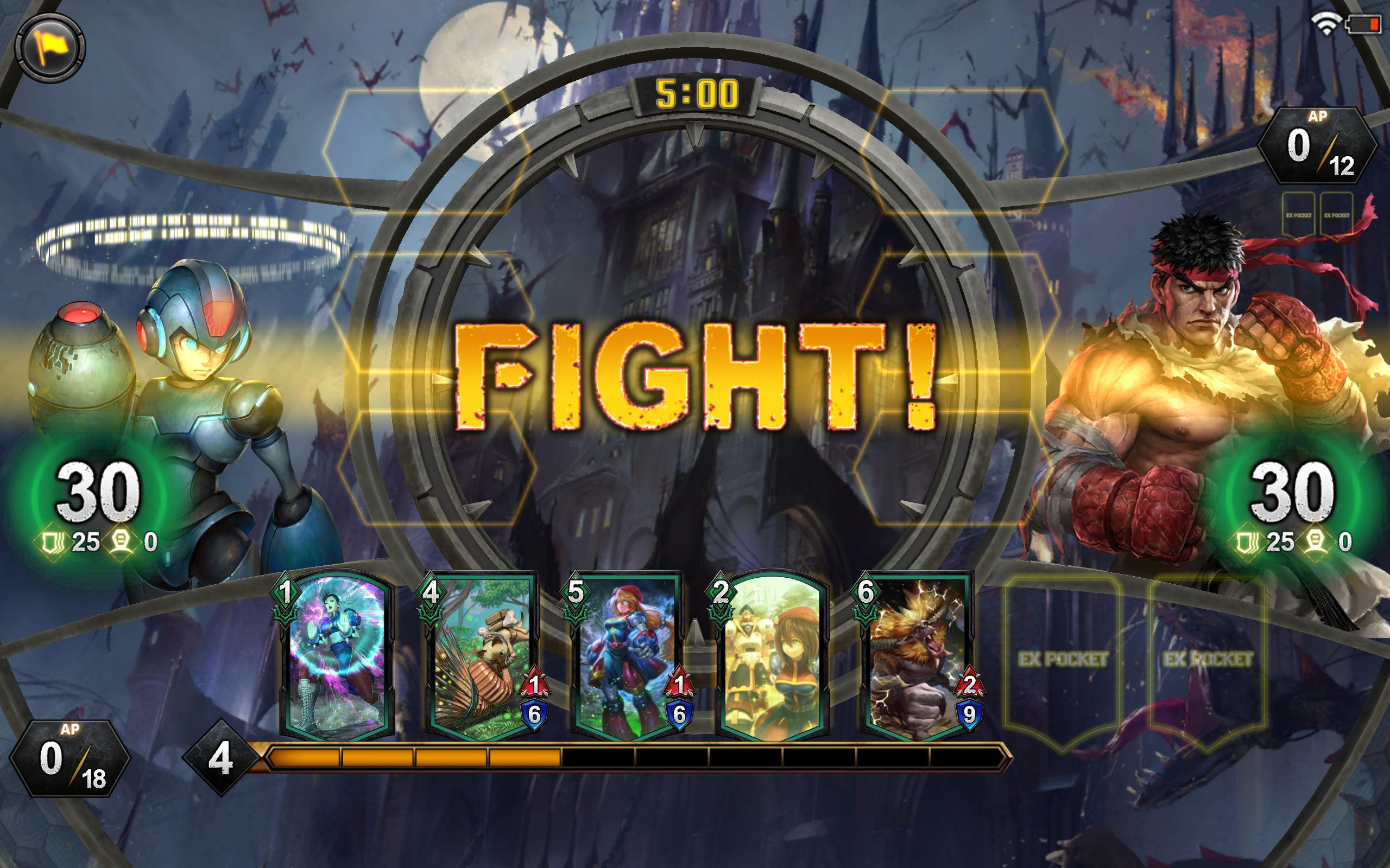 Teppen fight card