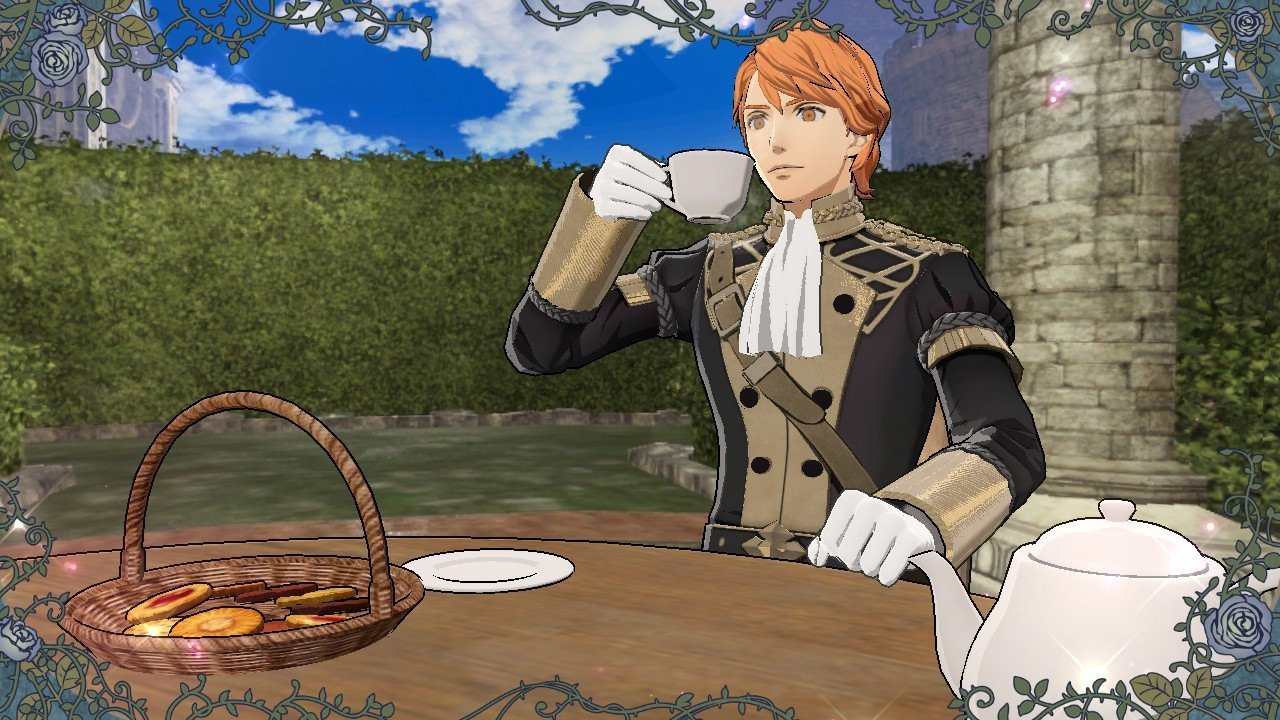 Fire Emblem: Three Houses - all Tea Time answers