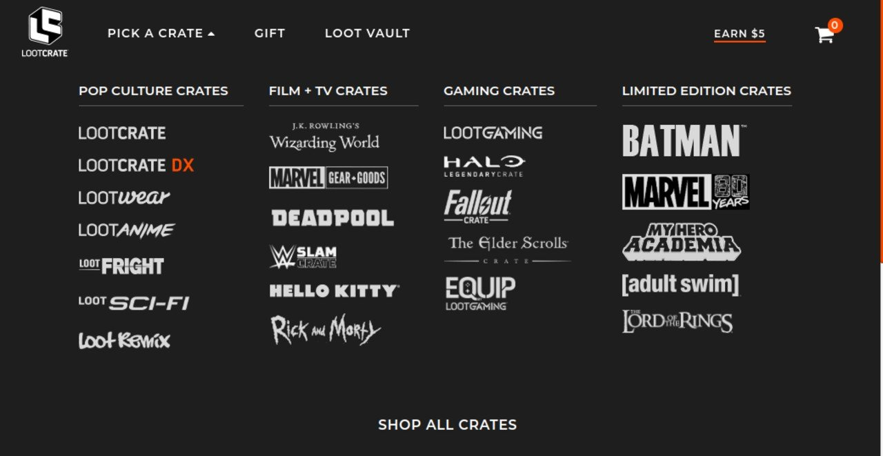 Loot Crate files for bankrupcty, promises to ship additional crates