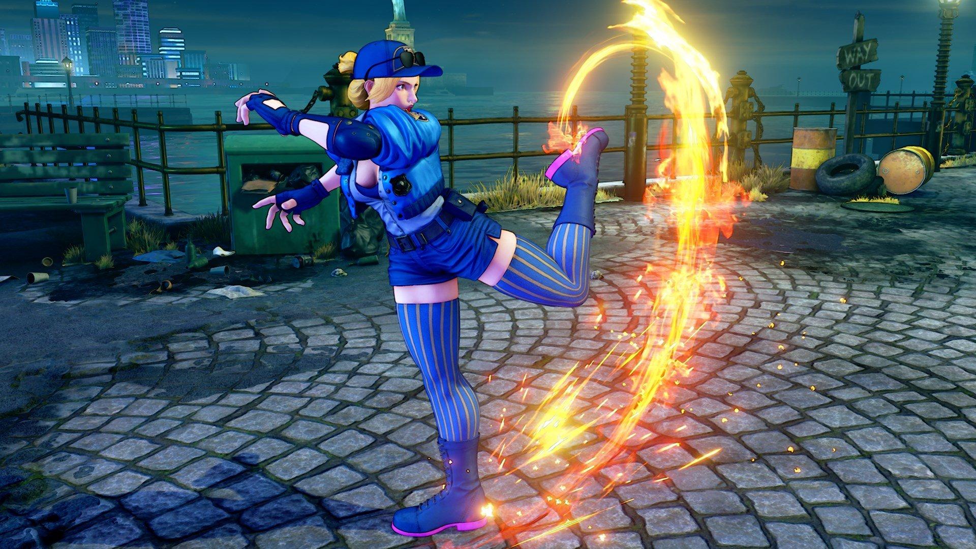 Street Fighter V - Lucia
