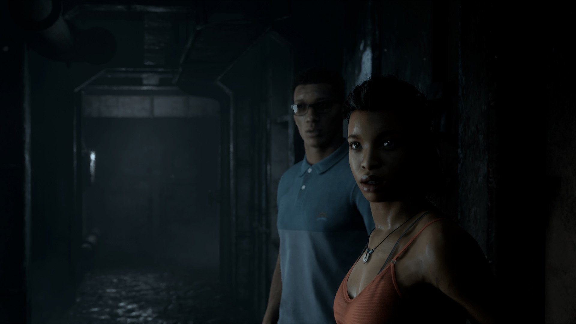 Man of Medan - Brad and Fliss aboard the ghost ship