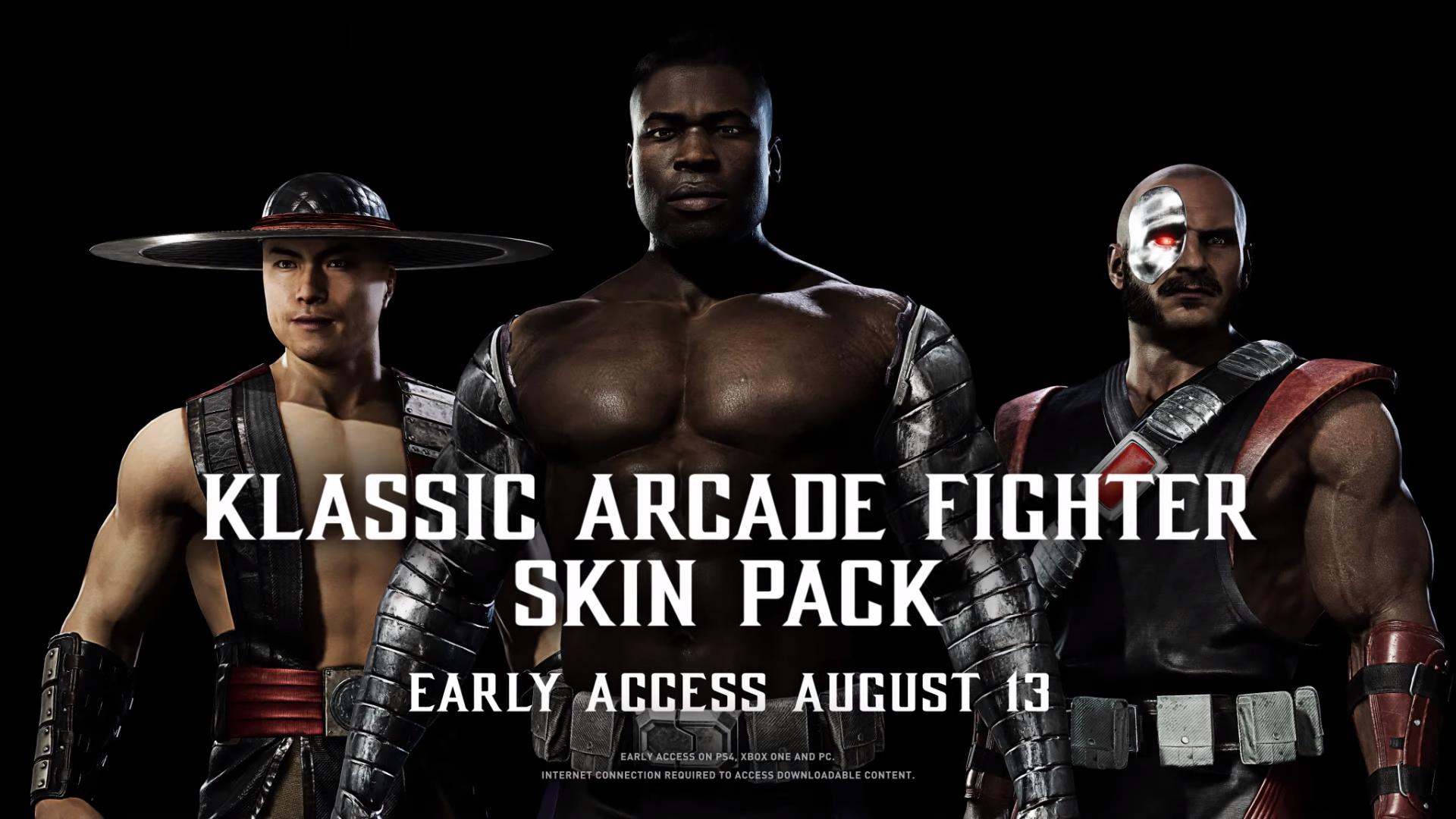Mortal Kombat 11 Klassic Skin Pack 2
