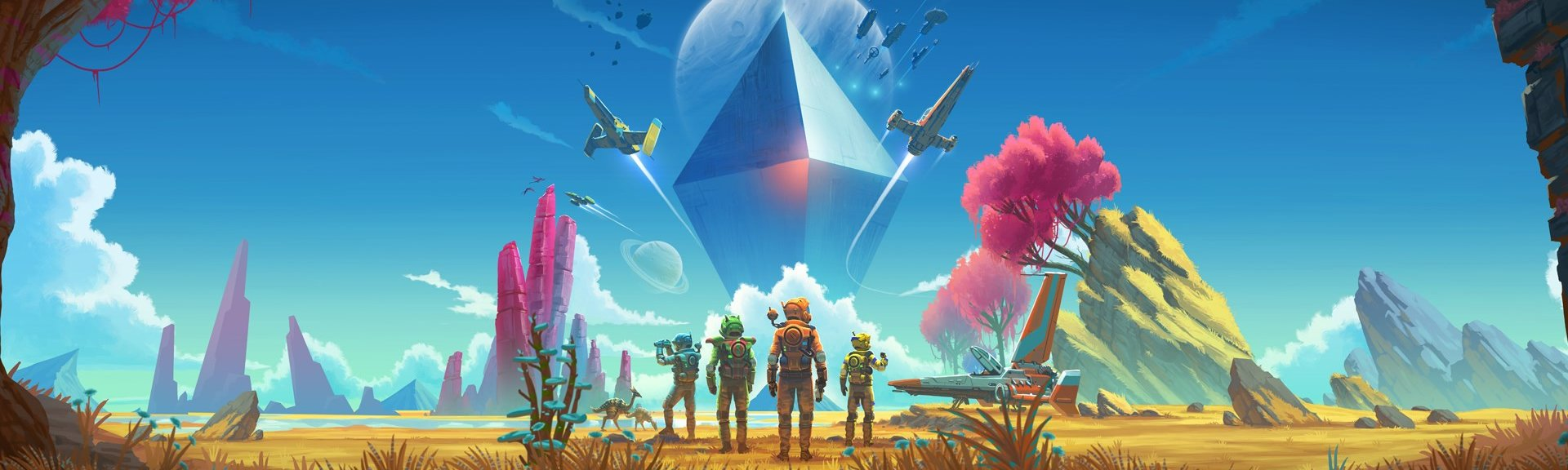 No Man's Sky Beyond Next FAQ walkthrough guides list