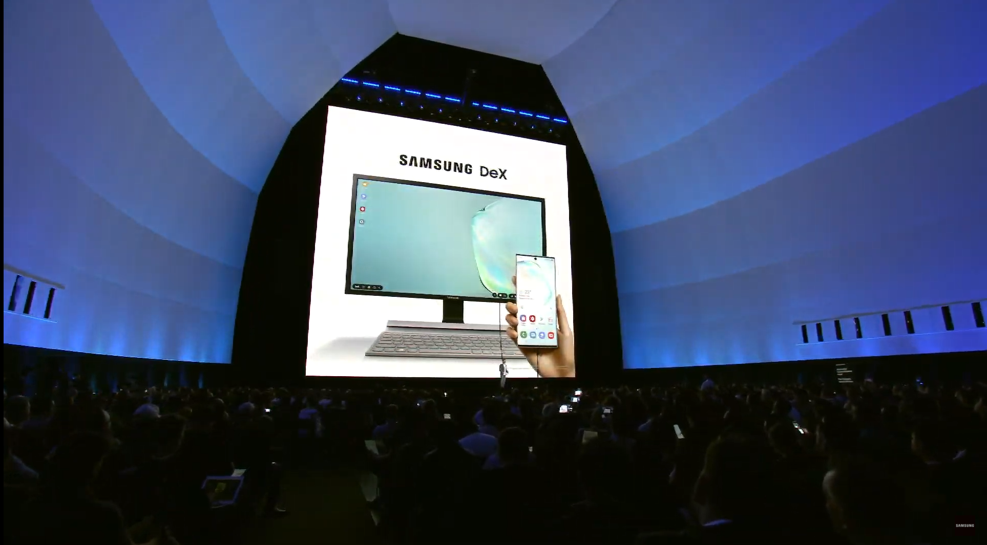 Samsung demos Microsoft PC features at Unpacked 2019