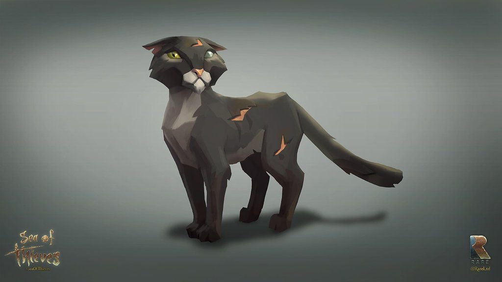 Sea of Thieves pet cat