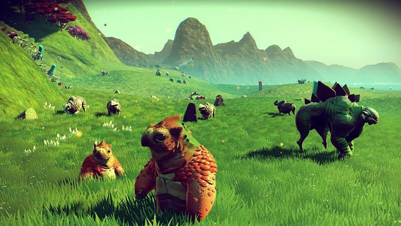 How to tame creatures in No Man's Sky