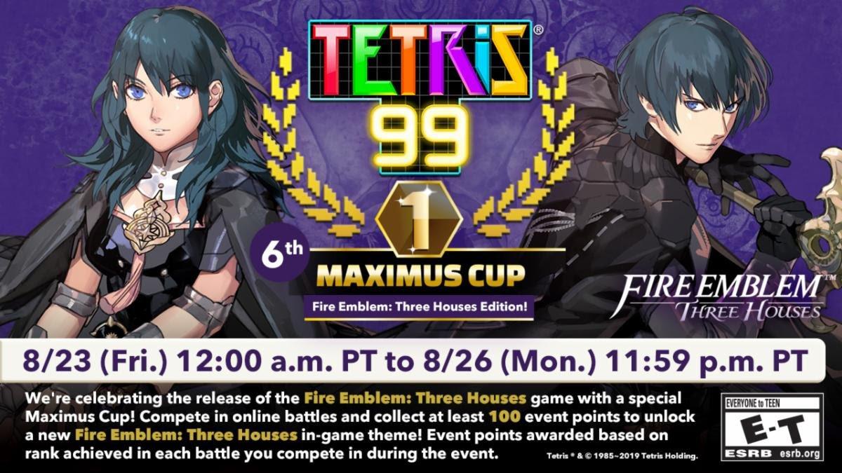 Tetris 99 Fire Emblem Maximus Cup