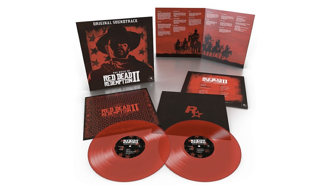 The Music of Red Dead Redemption 2 Original Soundtrack limited edition vinyl translucent red