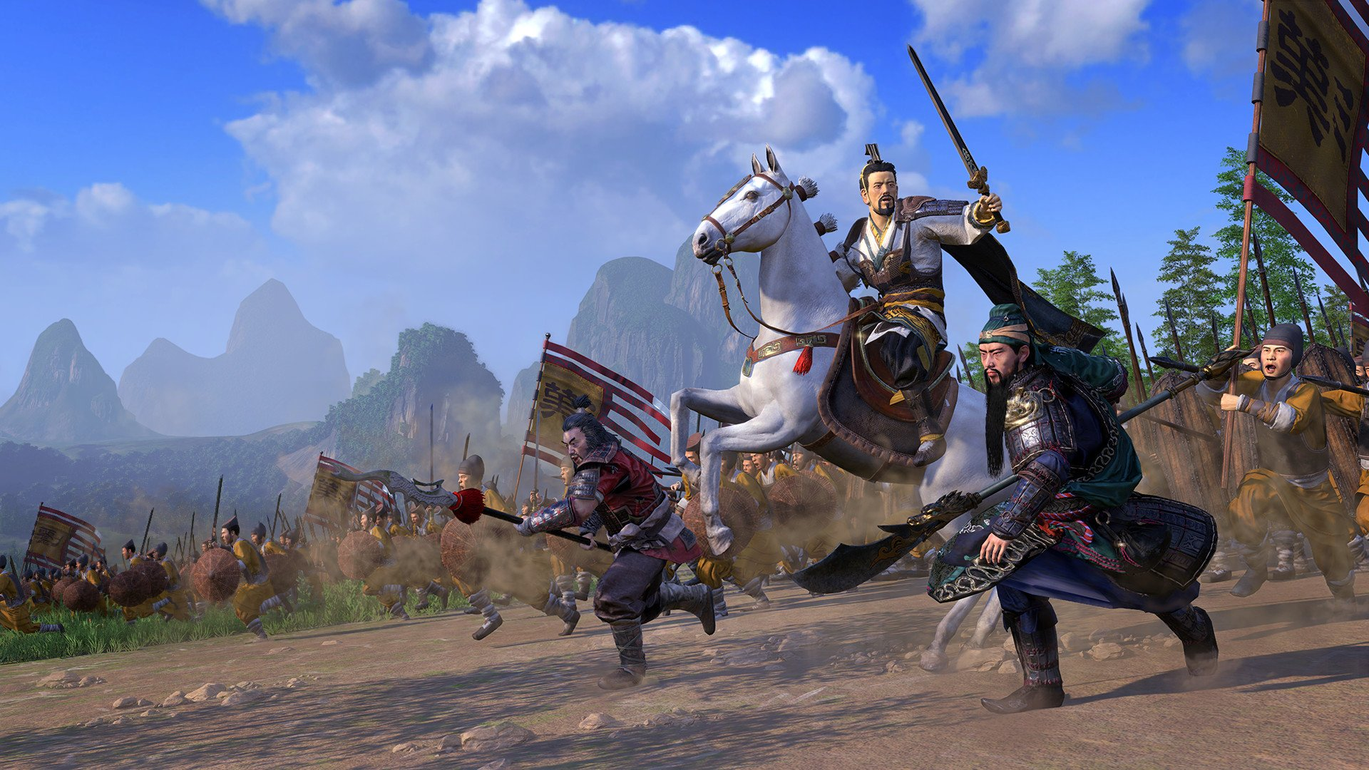 Total War: Three Kingdoms to get Dynasty horde mode